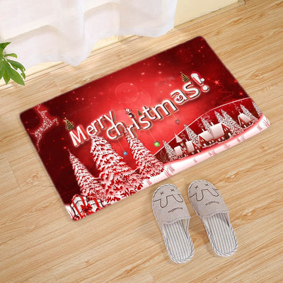 Personalized Christmas Doormat 2