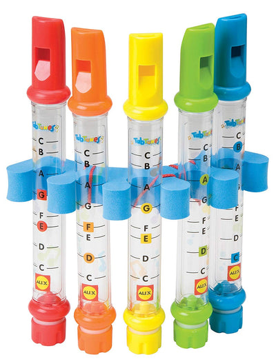 5 Water Flutes for Children - Music Toy for Kids