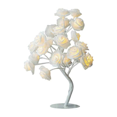 Rose Tree Table Lamp - Unique Flower Bedside Led Lamps