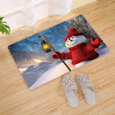 Personalized Christmas Doormat 3