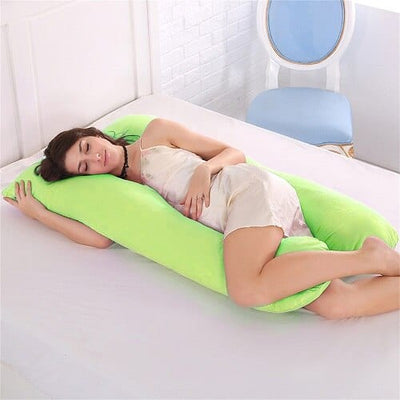 Comfy Pregnancy U Shaped Maternity Full Body Pillow