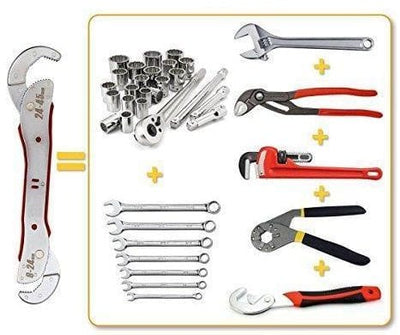 Multi-Function Wrench - Adjustable Wrench