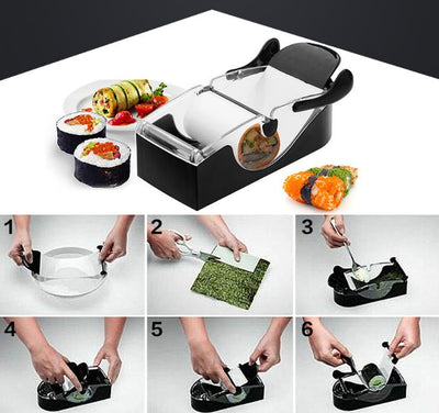 The Perfect Roll Sushi Making Machine
