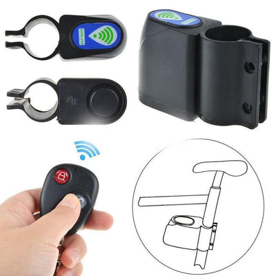 Remote Control Anti-Theft Bike Lock - Wireless Security Lock