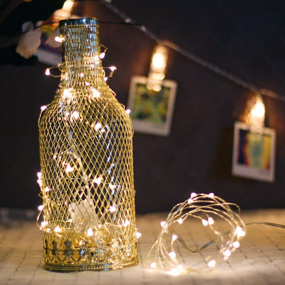 Garland Copper Wire LED String Lamp - Christmas Decorations