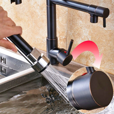 Kitchen Faucet with Pull Down Sprayer - Modern Kitchen Faucets