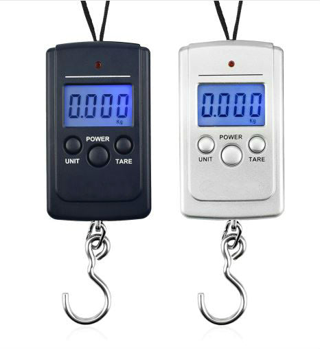 Electronic Travel Weighing Hook - Digital Luggage Scale