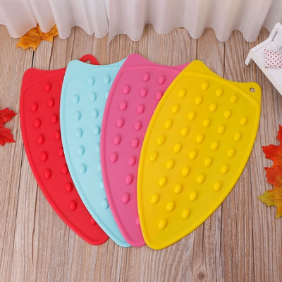 Flexible Silicone Iron Rest Pad - Hot Resistant Mat