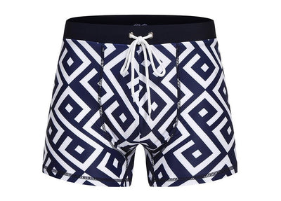 Mens Boxer Shorts - Swimming Trunks Swimwear Brief