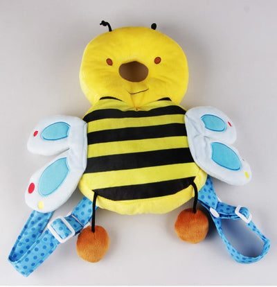 Bumble Bee Baby Head Protection Pillow Pad