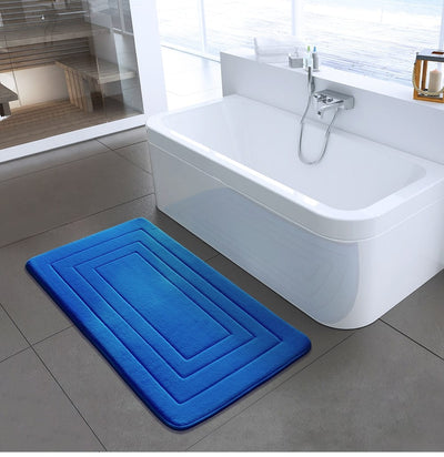 Non Slip Bathroom Mat - Modern Bath Mats and Rugs