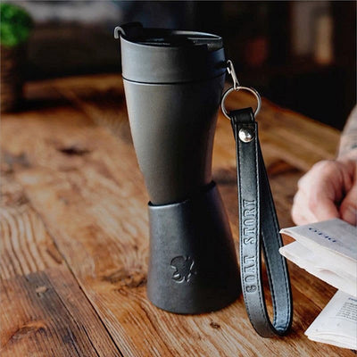 Goat Horn Thermos Coffee Mug - Drinking Horn