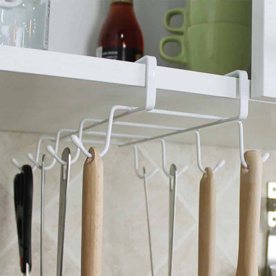 Hanging Coffee Mug Rack Cup Holder - Kitchen Storage Racks