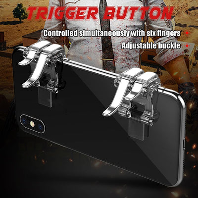 Pubg Mobile Controller Joystick - Fire Aim Trigger Button