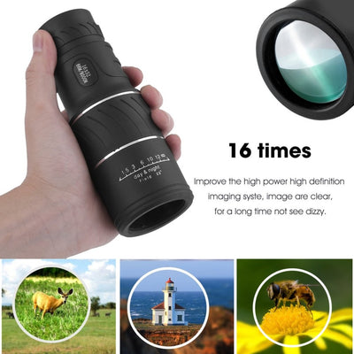 Waterproof Monocular Smartphones Camera Coating Magnifier