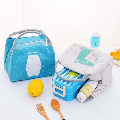 Baby Bottle Insulated Lunch Bag - Thermal Food Bags