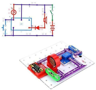 Snap Circuits For Kids - Electronics Discovery Beginner Kit