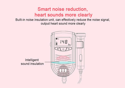 fetal doppler, baby doppler, hear baby heartbeat, heartbeat doppler, heartbeat monitor, home doppler, baby heart doppler, best fetal doppler, baby heartbeat doppler, Baby Heartbeat Fetal Doppler - Hear Baby Heartbeat