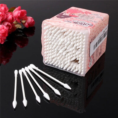 200Pcs Double Head Cotton Swab - Dual Tipped Cotton Buds
