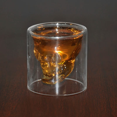 4pcs Glass Skull Head - Skull Shot Glasses