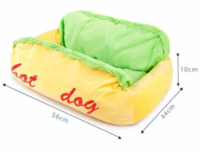 Cute Hot Dog Style Cat and Dog Pet Beds