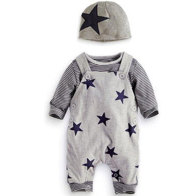 Cute Newborn Baby Boy Jumpsuit - Trendy Outfits Infant Clothes