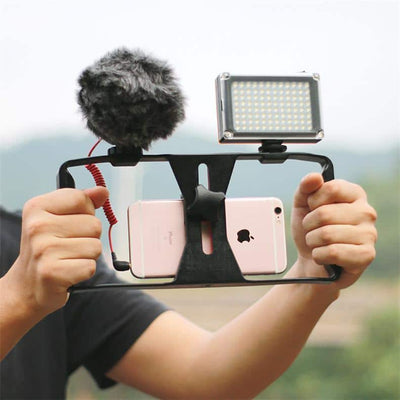 Smartphone Video Rig Case - Video Stabilizer for Vloggers