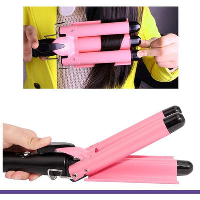 Best Big Curling Iron for Long Hair - Deep Waver Curls Iron