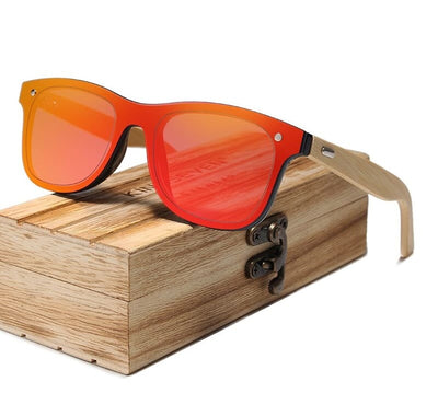 Original Bamboo Polarized Sunglasses - Unisex Wooden Glasses
