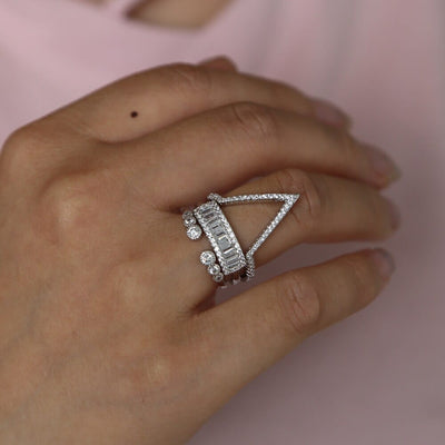 Stackable Vintage Rings for Women - Knuckle Rings For Girls