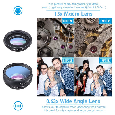1 in 10 Phone Wide Angle Macro Lens