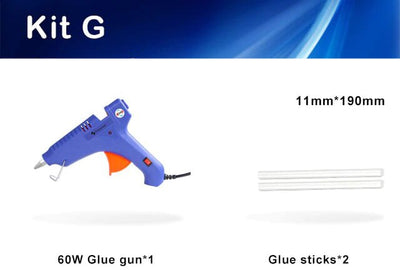 Hot Glue Gun With Glue Sticks