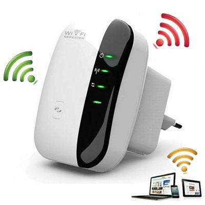 Easy Wifi Repeater - Wifi Signal Extender Booster for Home and Office