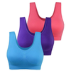 Wireless Light Push Up Sports Bra