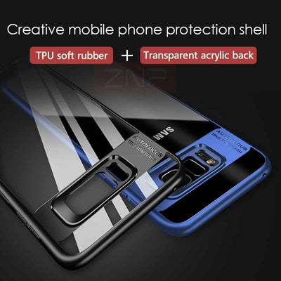 Transparent Reflex Case for Samsung Galaxy S8 and S8 Plus