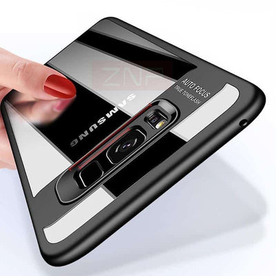 Transparent Reflex Case for Samsung Galaxy S7 and S7 Edge