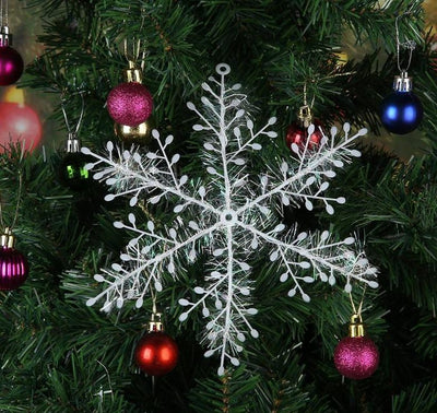 Charming Snowflake Decorations Holiday Christmas Ornaments