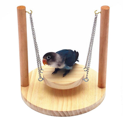 Premium Wooden Swing Hammock for Bird Premium Wooden Swing Hammock for Bird and Hamsterand Hamster