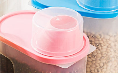 Storage Containers for Flour and Sugar