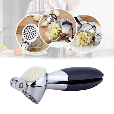 Multi-Purpose Stainless Steel Garlic Press