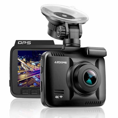 Car Camera 4k With Built In GPS and WiFi - Camcorder For Car