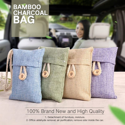 Bamboo Charcoal Bag - Air Purifying Bags