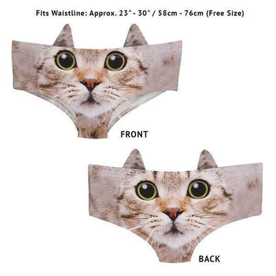 Kitty Cat With Ears Women Panties