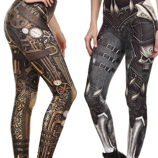 Steampunk Fashion Leggings for Women