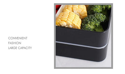 Portable Bento Box - Microwavable Lunch Box