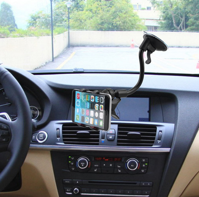 Cell Phone Gooseneck Suction Mount