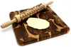 Christmas Theme Embossed Rolling Pin