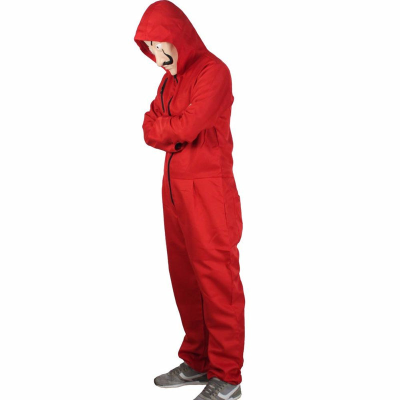 Red Jumpsuit Costume - Halloween Costumes for Adults