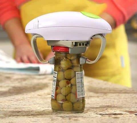 Automatic Electronic Jar Opener - Easy Twist Can Opener