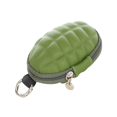 Grenade Shaped Wallet with Key Holders